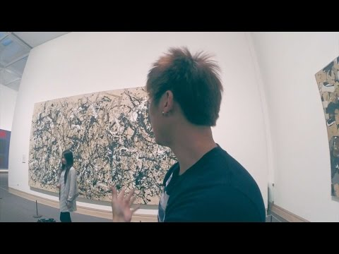 Explaining modern art at MOMA and MET museum NYC