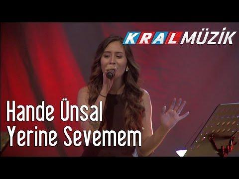 Kral Pop Akustik - Hande Ünsal - Yerine Sevemem