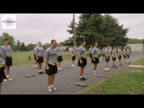 Albanian Officer Candidate School - Physical Training