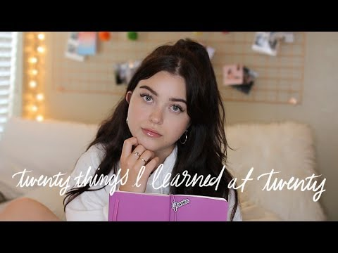 20 things I learned at 20 + BIG NEWS! | lindseyrem