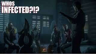 SOMEONE IS INFECTED | Until Dawn Horror Game [9]