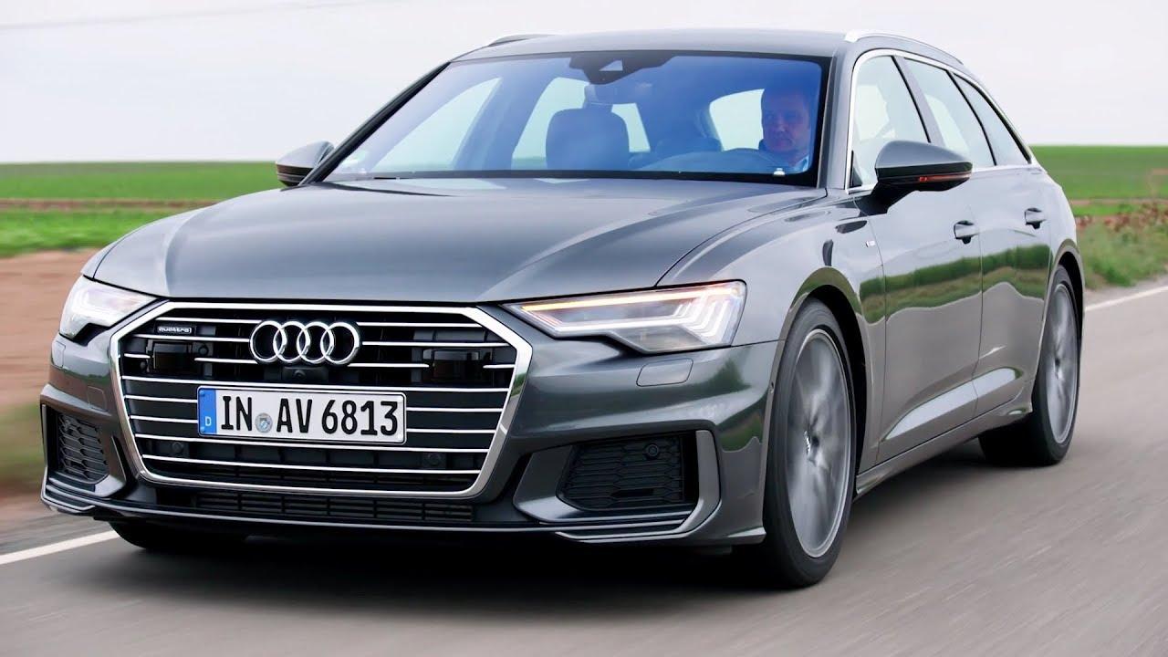 2019 Audi A6 Avant Daytona Grey Driving Interior Exterior 50