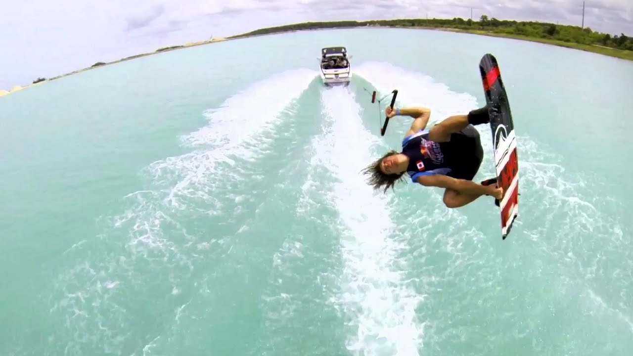 Red Bull Wake Open 2013  GoPro Boat  YouTube