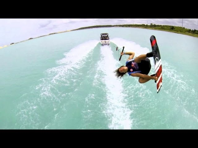 Red Bull Wake Open 2013 - GoPro Boat