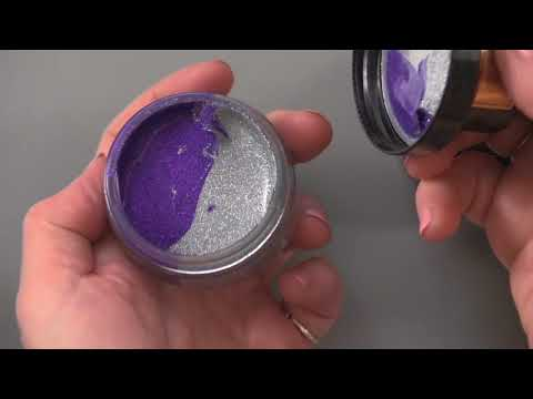 Cosmic Shimmer Glitter Kiss Duos from Creative Expressions