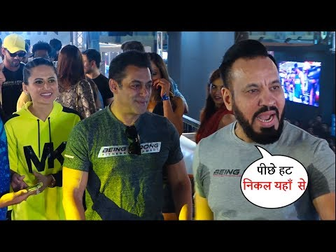 Salman Khan Bodyguard Shera Angry At Preview Of Being Strong Fitness Equipment
