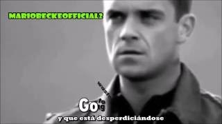 Robbie Williams - Feel [Lyrics + Subtitulado Al Español] Official Video VEVO
