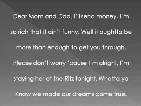 Baby Girl SugarLand Lyrics