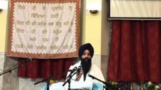 Giani Gurvinder Singh Ji. Ludhiana Wale @ Gurudwara Sahib SCSONY Nov-16-2015
