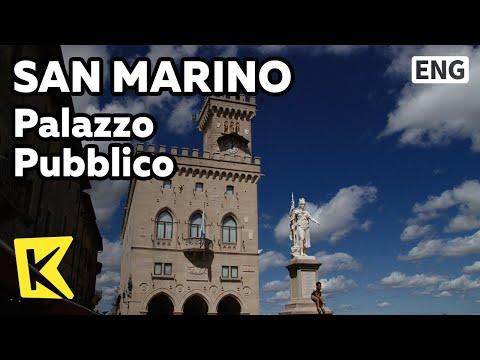 【K】San Marino Travel[산마리노 여행]푸블리코 궁전, 국회/Palazzo Pubblico/Parliament/Public Palace/Mount Titano