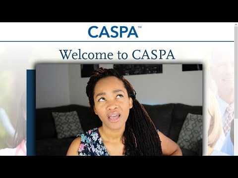 Filling Out The CASPA Application - (Real Time Tutorial) thumbnail