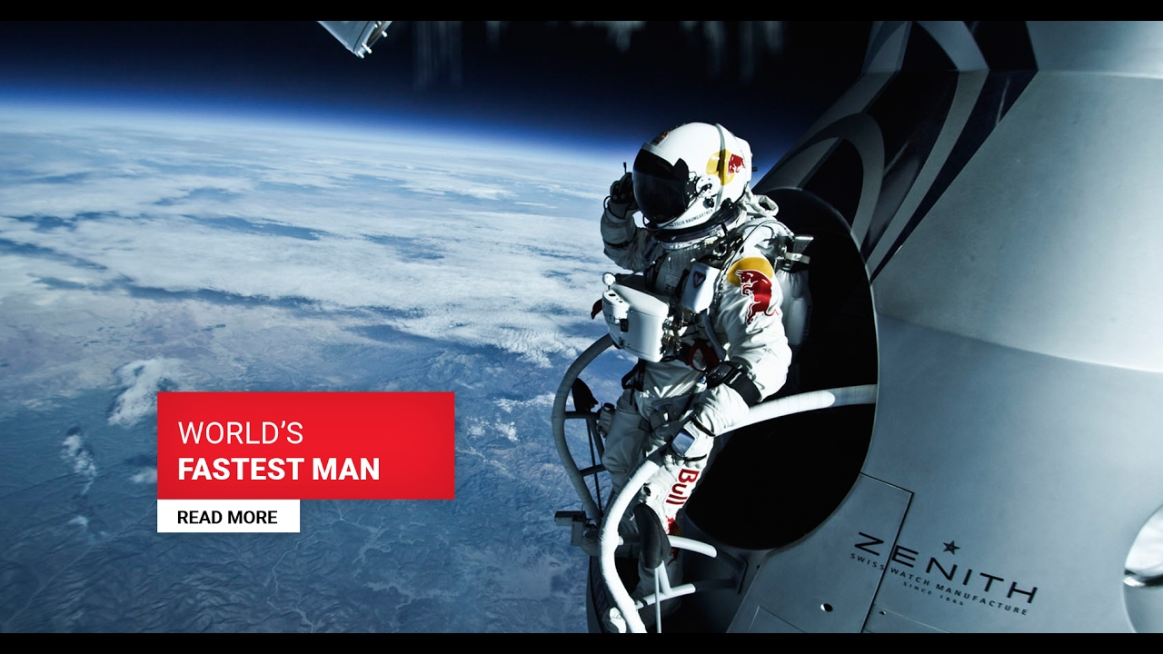 Free fall from the edge of space live webcam