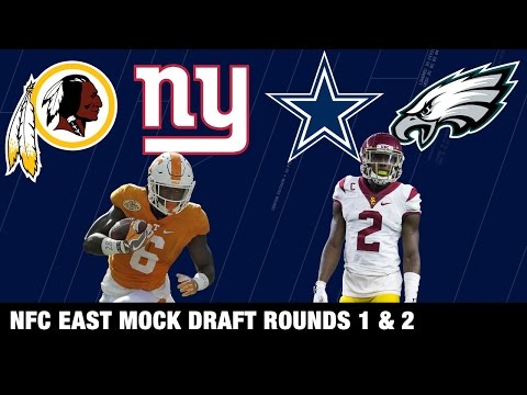Draft Projections: Cowboys, Eagles, Redskins, and Giants | NFL Network | Path to the Draft