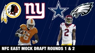 Draft Projections: Cowboys, Eagles, Redskins, and Giants | NFL Network | Path to the Draft Free HD Video