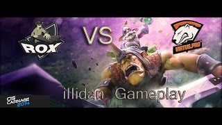 Rox.KIS vs Virtus.pro game 2, CIS Carnage 2014 illidan gameplay alchemist