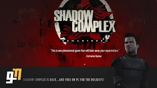 Shadow Complex Remastered - A 100% Free Game! Gameplay First Impressions