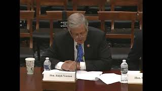 "Rep. Norman Testimony on ""Members Day Hearing: House Committee"" on Science, Space, and Technology"