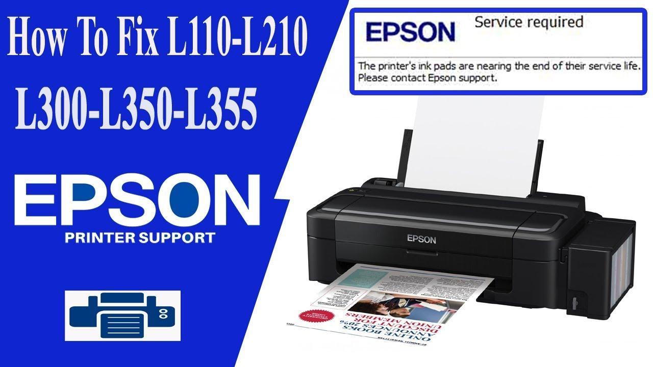 Epson Resetter & Adjustment Program L360 L120 L210 L220 L130