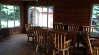 Large Cabin Tour at Craig Lake State Park
