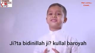 Ya habibal qolbi + lirik muhammad hadi assegaf sungguh meresapi  bikin terharu