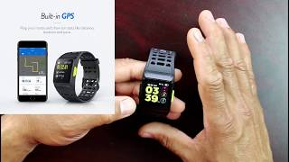 iWOWNfit P1 Fitness Smart Watch Activity tracker More Than Fitbit