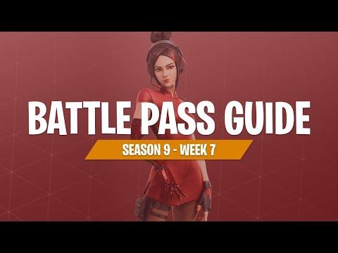 Completing Week 7 Challenges (Fortnite Battle Royale)