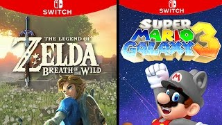 Nintendo Switch Launch Lineup Predictions