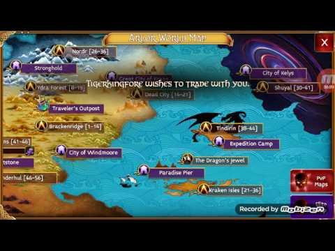 Arcane Legends Lvling To 56+ Immortal Aegis Test