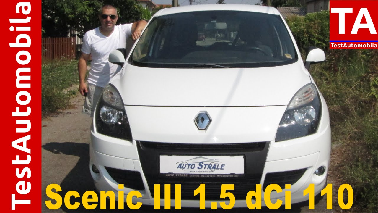 RENAULT Scenic III 1.5 dCi TEST