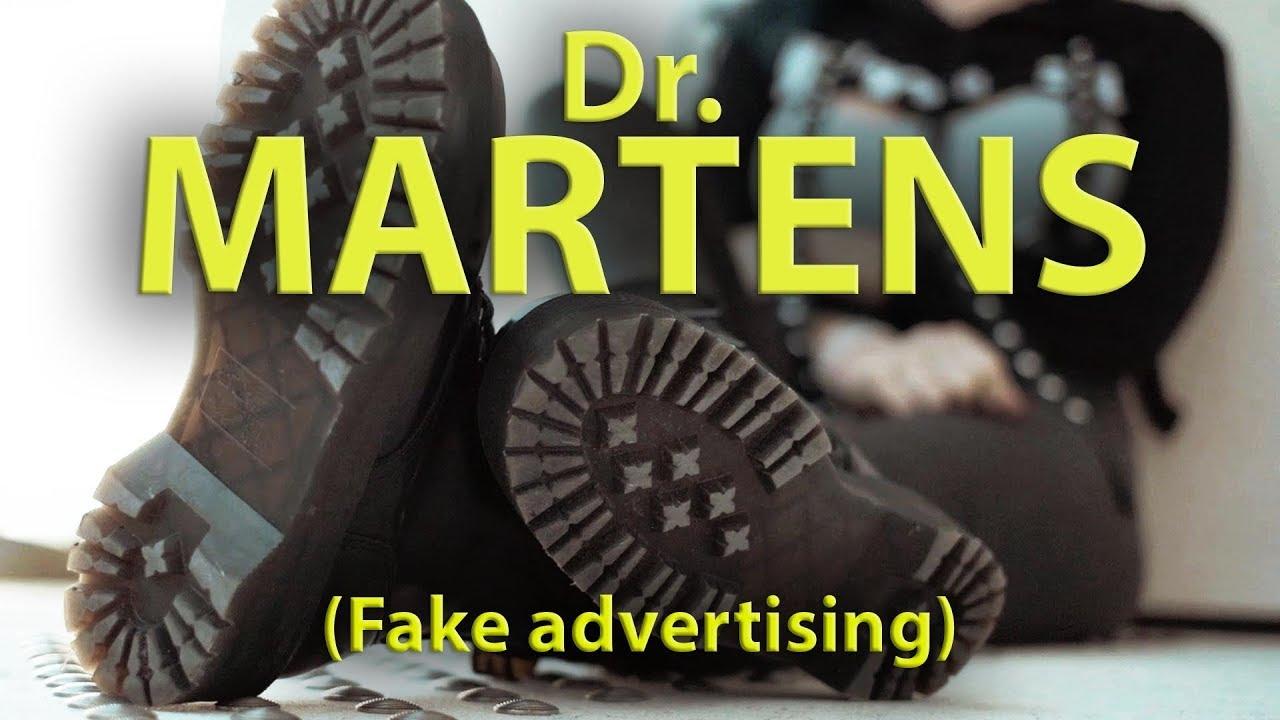 Fausse pub pour Dr. Martens
