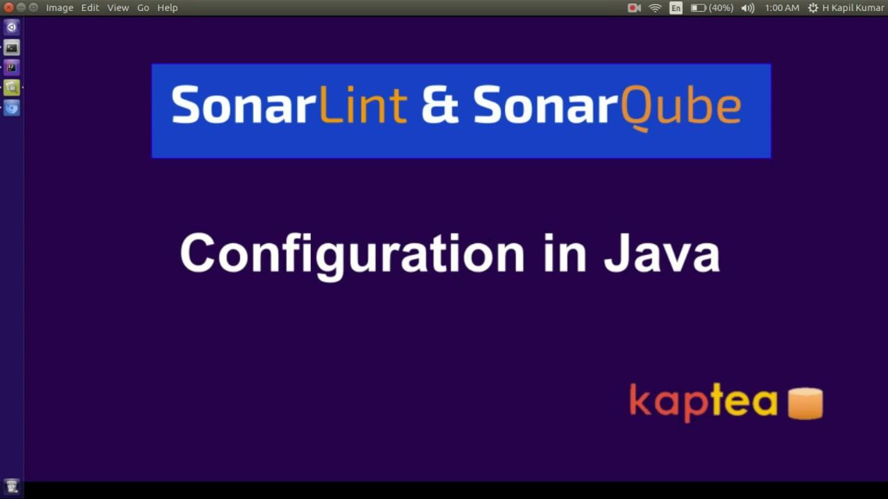 SonarLint and SonarQube Configuration in intellij IDE
