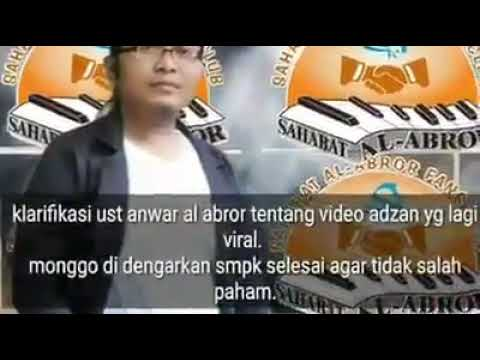 MADURA!! Klarifikasi Ustad Anwar al abror tentang Video Adzan sukkur yang lagi Viral