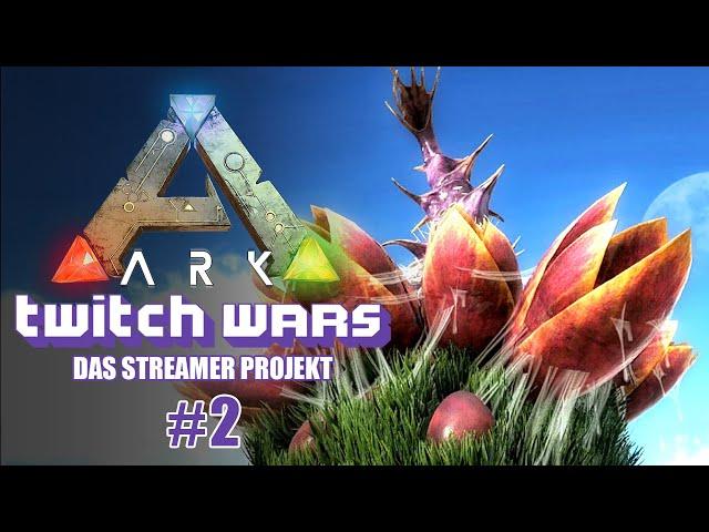 Die Verteidigung ausbauen 🦖 ARK Twitch Wars #02 [Lets Play Deutsch]