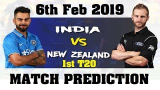 6 Feb 2019 | 1st T20 | New Zealand vs India | Match Prediction | KP Horary Astrology