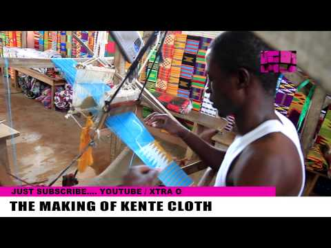 HOW TO MAKE KENTE CLOTH VIDEO