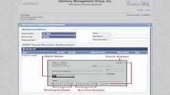 Harmony Management | Web Portal Login Video Tutorial