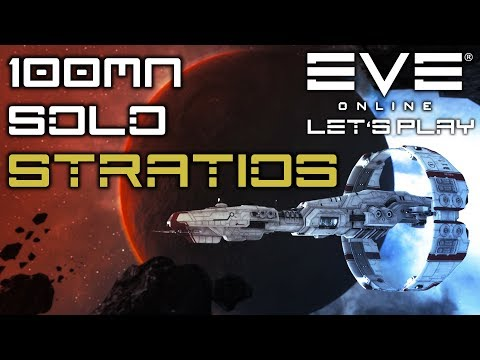 Let's Play EVE Online: 100mn Solo Null Sec Hunter Stratios // PVP GAMEPLAY //