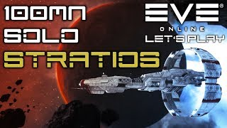 100mn Solo Null Sec Hunter Stratios - SOE Cruiser    Let's Play EVE Online // PVP GAMEPLAY