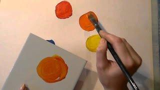 Уроки рисования для начинающих - Смешивание цветов