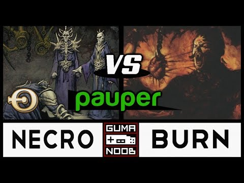 Pauper - UB CONTROL NECROSAGES vs BURN
