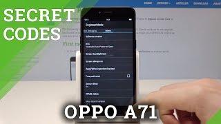 OPPO A71 CODES / Secret Menu & Hidden Modes
