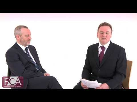 Delivering independent advice - FCA overview