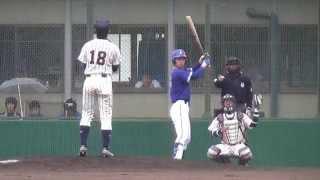 2014/4/28 広島経済大・尾仲祐哉投手(2年)の投球