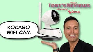 WiFi Security Camera Baby Cam Pet Cam Unboxing And Review Kocaso