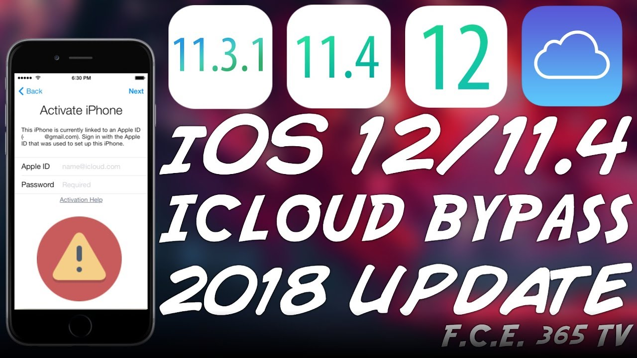iOS 12 / iOS 11 4 1 / 11 ICLOUD BYPASS UPDATE (AUGUST 2018) | ALL YOU NEED  TO KNOW