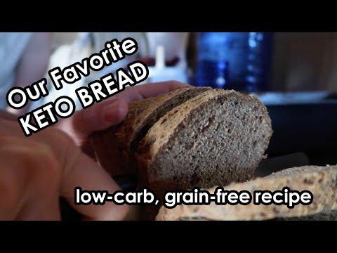 Our favorite Keto Bread Recipe | kid friendly | grain free | low carb | ketogenic |  recipe
