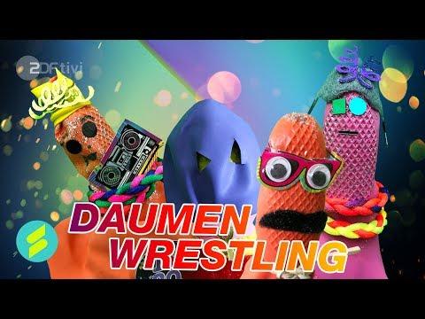 Die Sportmacher-Challenge #18 – Daumenwrestling | ZDFtivi