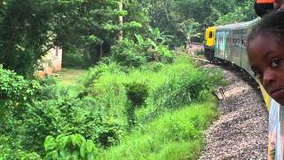 Jamaica Train Ride - Linstead to Spanish Town (09 AUG 2011) Pt # 1
