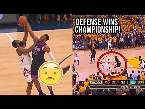 "NBA ""Art of DEFENSE"" Moments"