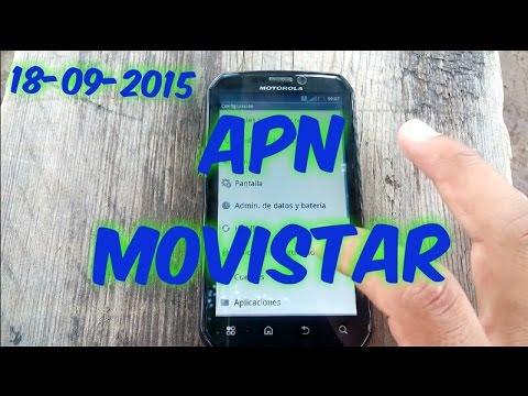 CONFIGURACION DE APN MOVISTAR MEXICO PARA ANDROID 3G Y 4G ...